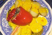 Rocotos rellenos (Gefüllte Paprika)
